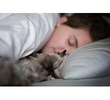 Catnap Photographic Print