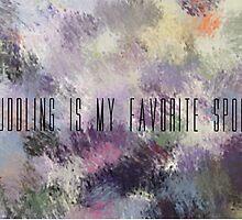Cuddling Is My Favorite Sport by sagespirit