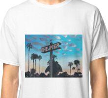 Redondo Beach Pier: Dusk Classic T-Shirt