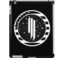 Skrillex US Flag Logo iPad Case/Skin