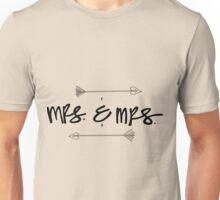 Mrs. & Mrs. Unisex T-Shirt