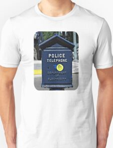 Police Telephone  T-Shirt