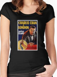 Movie Poster Merchandise Women's Fitted Scoop T-Shirt