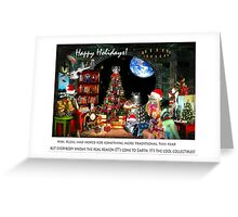 Merry Sci Fi Christmas! Greeting Card