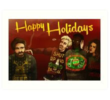 Happy Ugly Sweater Days! Art Print