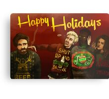 Happy Ugly Sweater Days! Metal Print