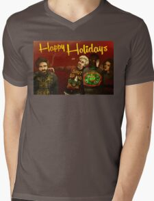 Happy Ugly Sweater Days! Mens V-Neck T-Shirt