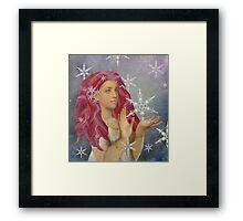 The Snow Fairy  Framed Print