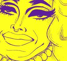 Pearl Face! - Pearl Liaison Rupaul's Drag Race Season 7 Sticker
