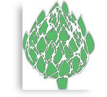 Green Artichoke!  Canvas Print