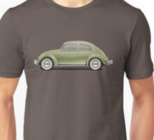1957 Volkswagen Beetle Sedan - Diamond Green Unisex T-Shirt