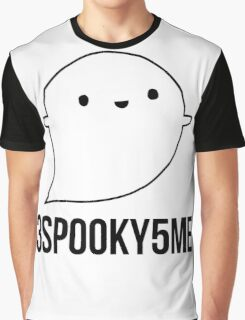 Spooky Ghost Graphic T-Shirt