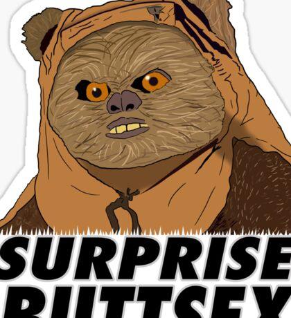 Ewok - Surprise Buttsex Sticker