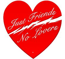 Just Friends No Lovers by Vy Solomatenko