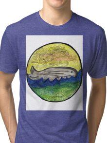Whale Tri-blend T-Shirt