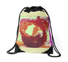 Cloudy Heart Drawstring Bag