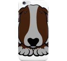 Dobby Ears Bull Terrier Brown  iPhone Case/Skin
