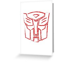 Autobot Paint Greeting Card