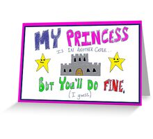 Gamer Valentine - Geek Princess Funny Nerd Greeting Card