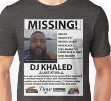 DJ Khaled Lost At Sea Snapchat T-Shirt Unisex T-Shirt