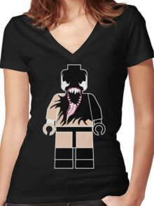 Lego Prince Women's Fitted V-Neck T-Shirt
