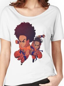 The Boondocks|Dragon Ball Z Women's Relaxed Fit T-Shirt