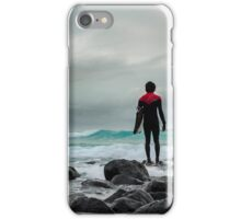 Waiting - Burleigh Heads Qld Australia iPhone Case/Skin