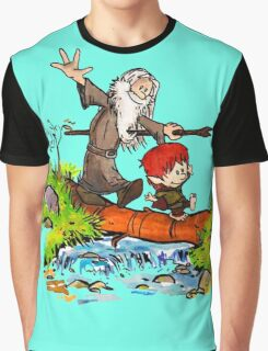 Gandalf and Bilbo Graphic T-Shirt
