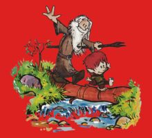 Gandalf and Bilbo Baby Tee