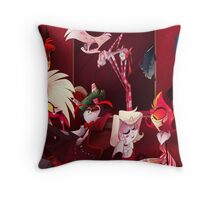 Demon Holiday Throw Pillow