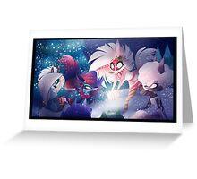 Werewolf Holiday Greeting Card