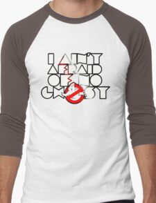 Ghostbusters - I Ain't Afraid Of No Ghost Men's Baseball ¾ T-Shirt