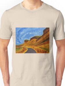 Road in Iceland Unisex T-Shirt