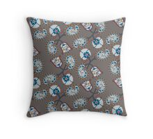 Luneville Paisley Throw Pillow