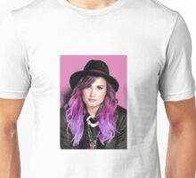 Demi in pink Unisex T-Shirt