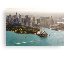 Sydney from the Sky Metal Print