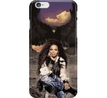 Janet, Desert Black Eagle iPhone Case/Skin