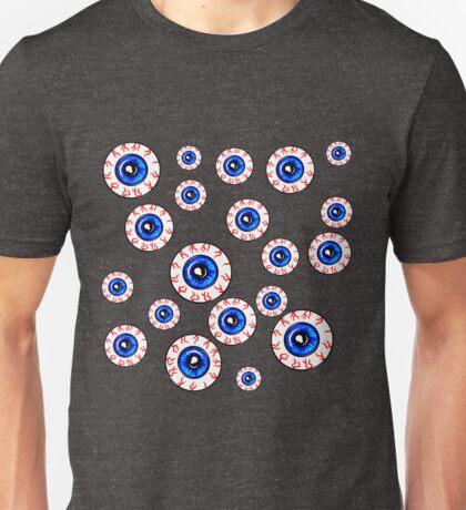 Eyeballs All Over! Peeper Print Unisex T-Shirt