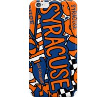 Syracuse University Collage iPhone Case/Skin