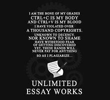Unlimited Essay Works Unisex T-Shirt