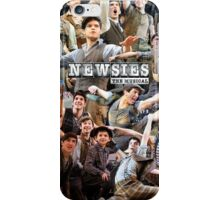 Newsies on Broadway photo collage iPhone Case/Skin