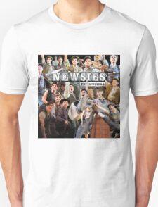 Newsies on Broadway photo collage T-Shirt