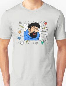 Captain Haddock - Blistering Barnacles! T-Shirt