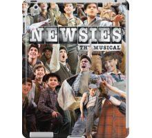 Newsies on Broadway photo collage iPad Case/Skin