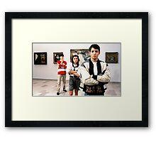 Ferris Bueller Shirt Framed Print