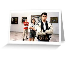 Ferris Bueller Shirt Greeting Card