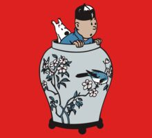 Tintin & Snowy - The Blue Lotus by Grant McDougall