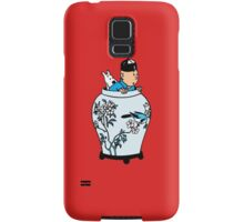 Tintin & Snowy - The Blue Lotus Samsung Galaxy Case/Skin