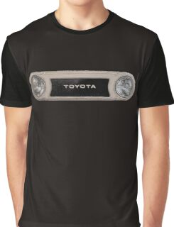 Toyota FJ40 Land Cruiser Bezel Graphic T-Shirt