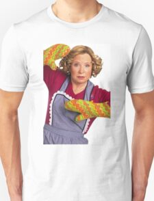 kitty forman with oven mitts T-Shirt
